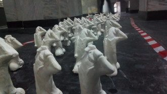 """Инсталляция """"Парад членов"""" спровоцировала скандал / Фото: Facebook/C14"""