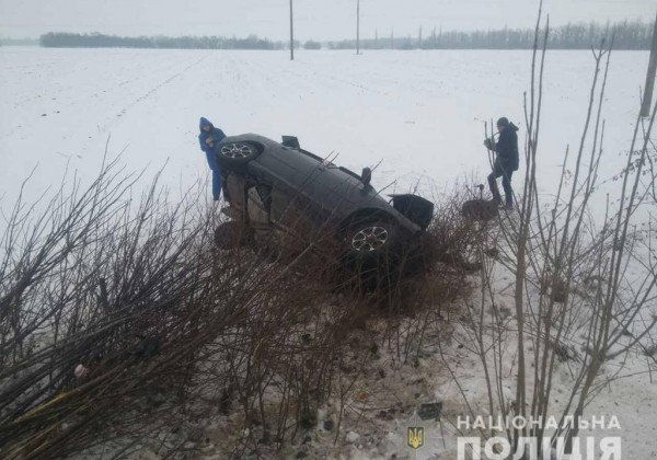 На Николаевщине в результате столкновения иномарок, в частности, погиб младенец