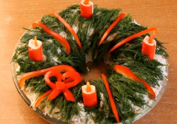 Названы лучшие рецепты постных салатов на Святвечер и непостных салатов на Рождество