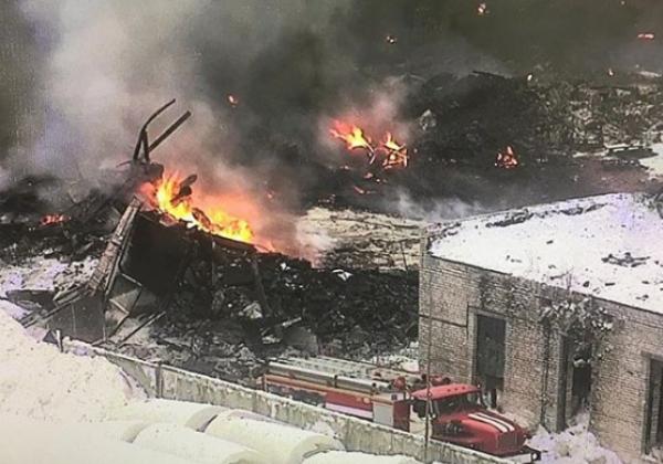 В России на химзаводе произошел взрыв, есть пострадавшие