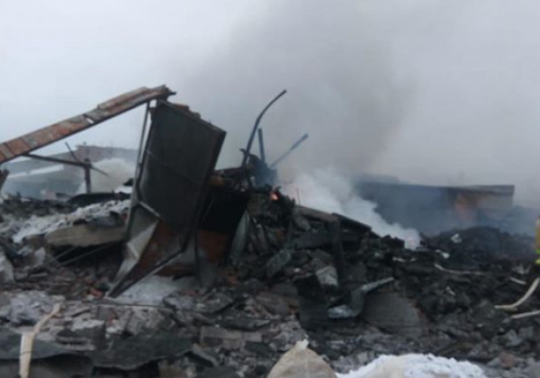 В РФ возросло число людей, пострадавших в результате взрыва на химзаводе