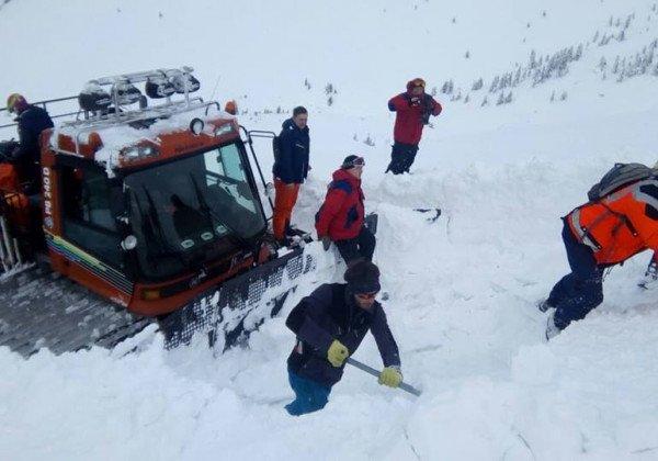 На Закарпатье найдено тело туриста, погибшего в результате схождения лавины