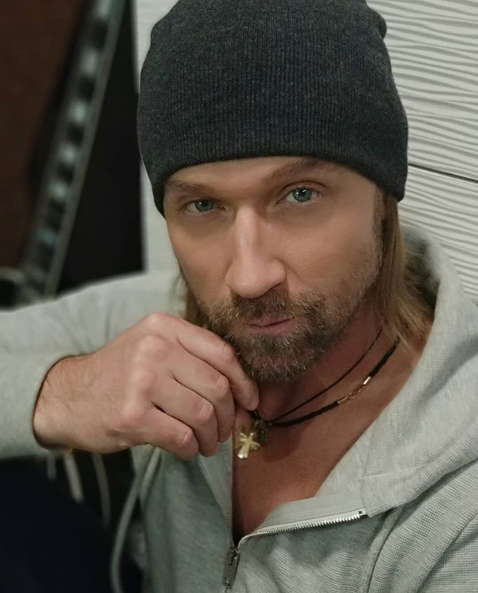 Олег Винник — Олег Винник с бородой