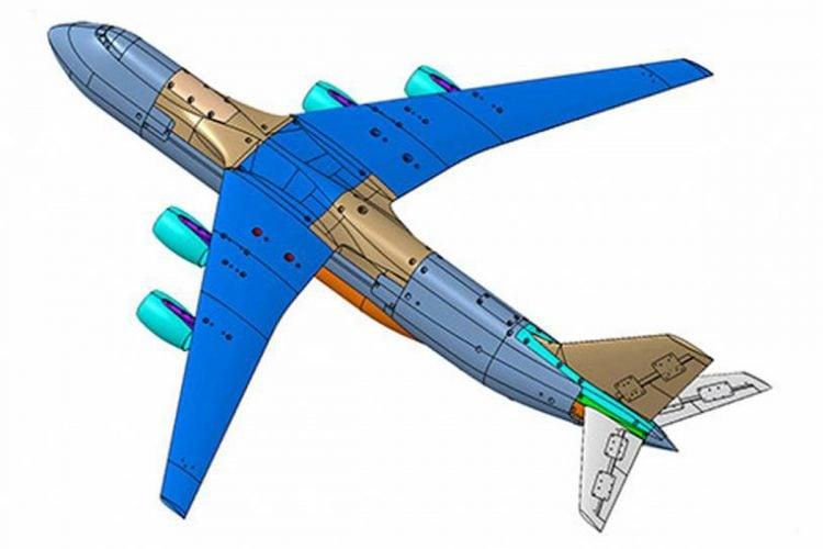 3D-дизайн самолета