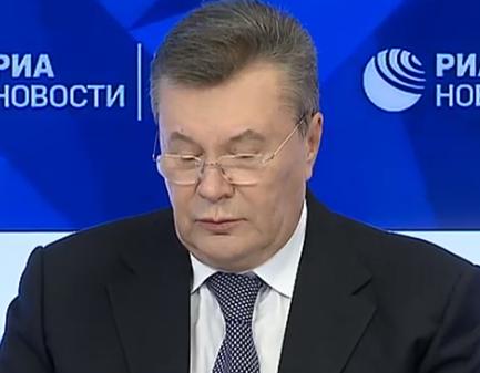 Виктор Янукович утверждает, что получил травму на теннисном корте