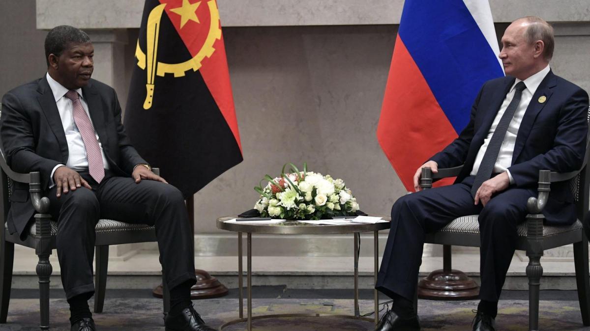 Владимир Путин и Жоао Лоренцо