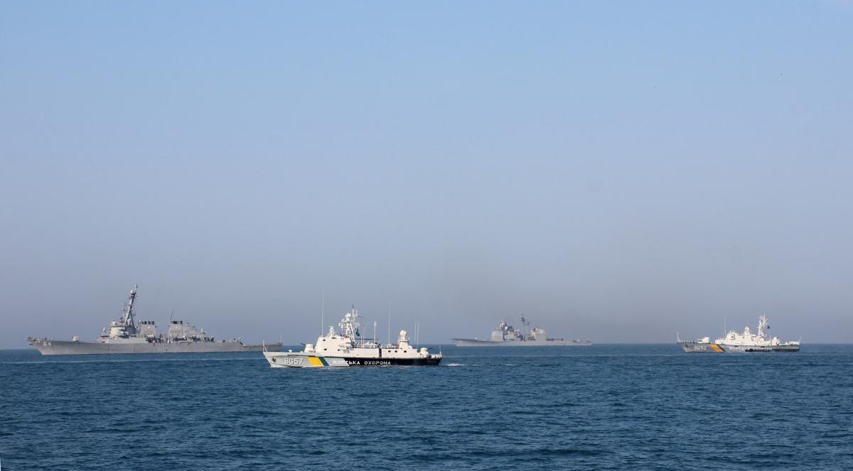 ВМС, корабли