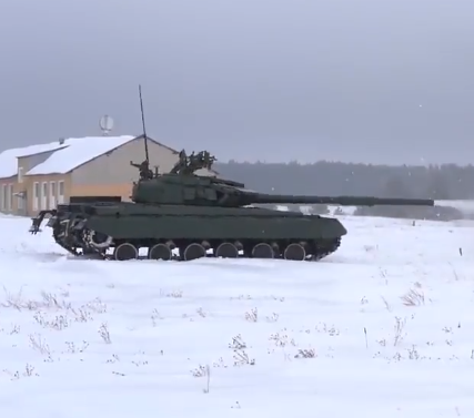 ВСУ передали более 100 модернизированных танков Т-64