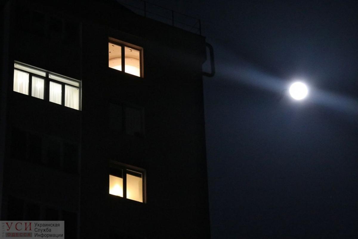 Над Одессой сфотографировали суперлуну