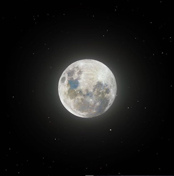 Луна в сверхвысоком разрешении