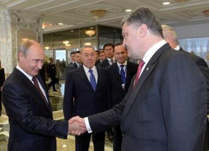 Путін, Порошенко