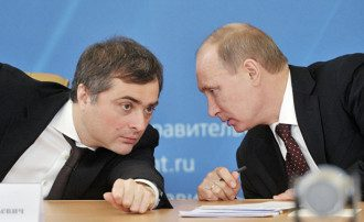 Владислав Сурков и Владимир Путин / ИноСМИ