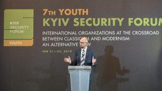 Арсений Яценюк открыл 7-й Киевский Форум Безопасности для молодежи