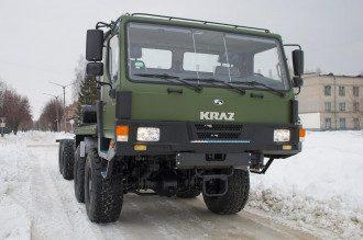Шасси КрАЗ-7634НЕ