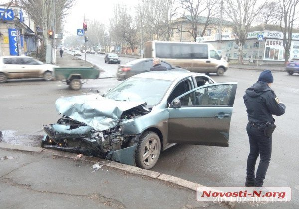 Депутат Николаевского горсовета Сергей Жайворонок угодил в аварию