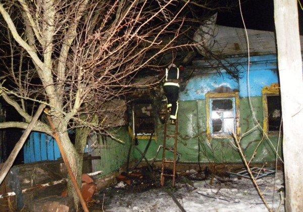 На Черниговщине произошел пожар, погибли трое маленьких детей