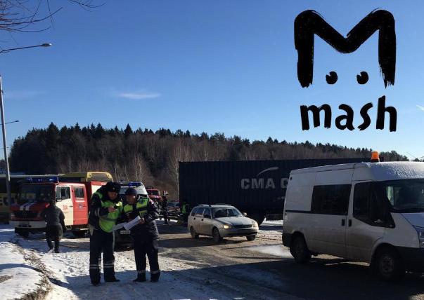 Под Москвой в ДТП пострадали четверо украинцев