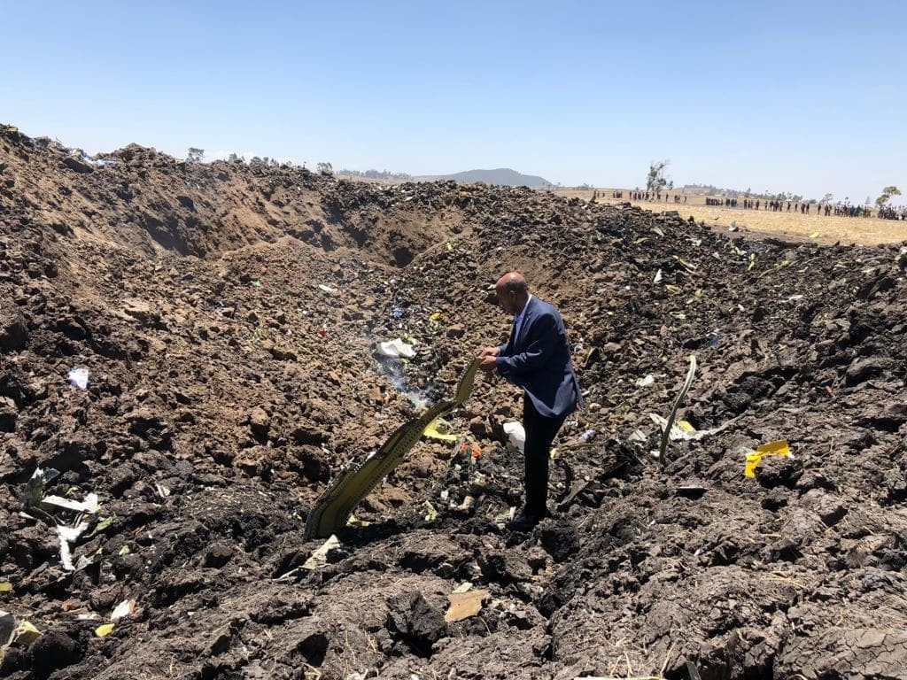 авиакатасрофа в Эфиопии