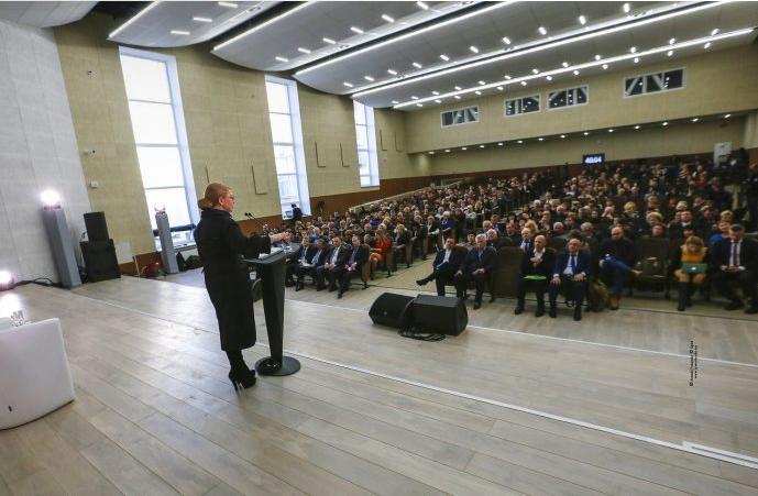 Юлия Тимошенко на съезде