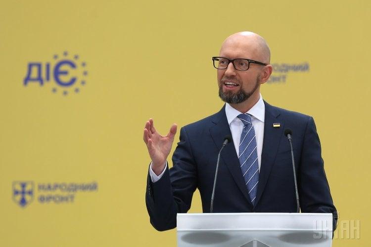 Арсений Яценюк сказал, что во время выборов президента недопустим силовой сценарий