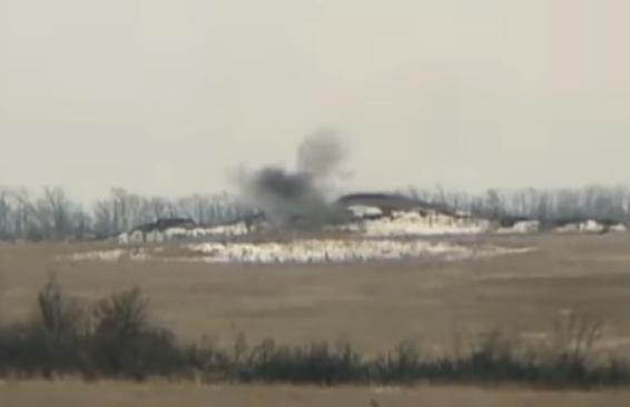 Офицер ВСУ сообщил, что в результате ответного огня на Донбассе ликвидирована еще одна пулеметная точка