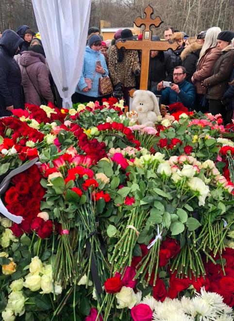 Юлию Началову похоронили возле Игоря Малашенко