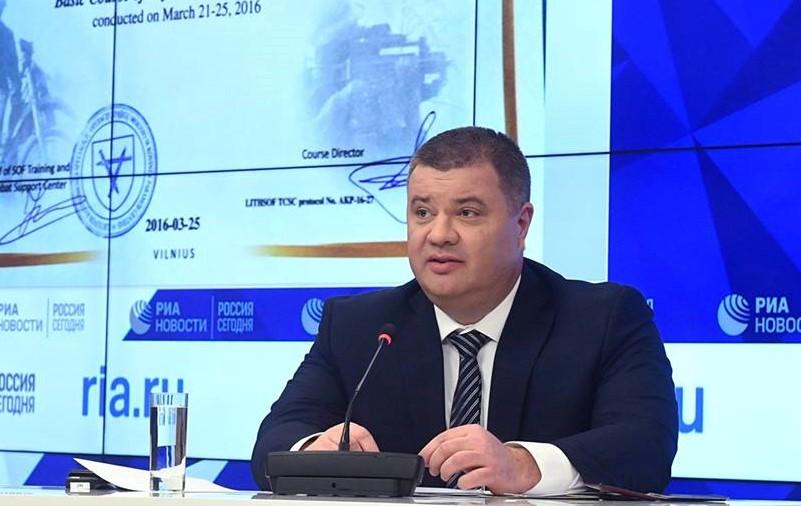 Василий Прозоров на пресс-конференции в Москве
