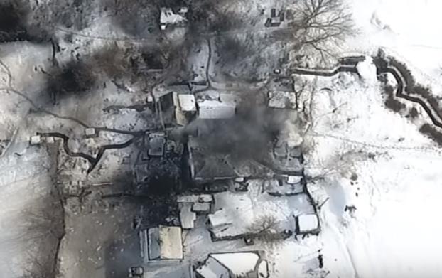 Волонтер сообщил, что на Луганщине уничтожен вражеский командный пункт, 6 убитых