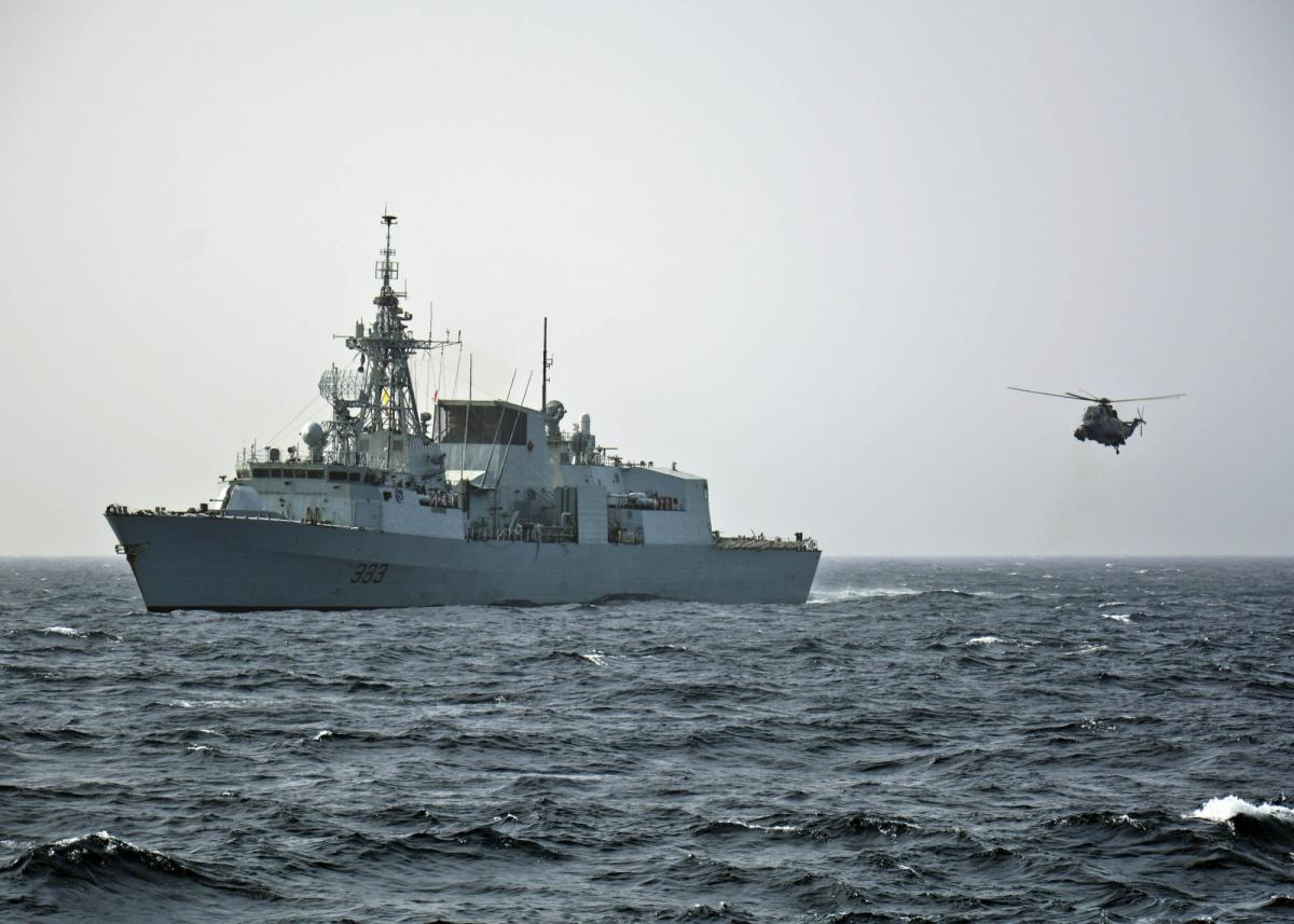 Фрегат Королевских ВМС Канады Торонто
