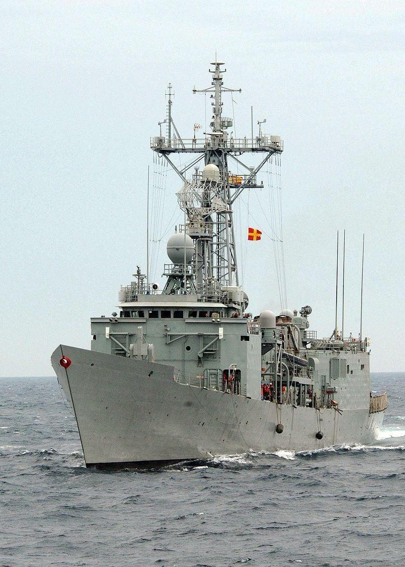 Фрегат ВМС Испании Санта Мария