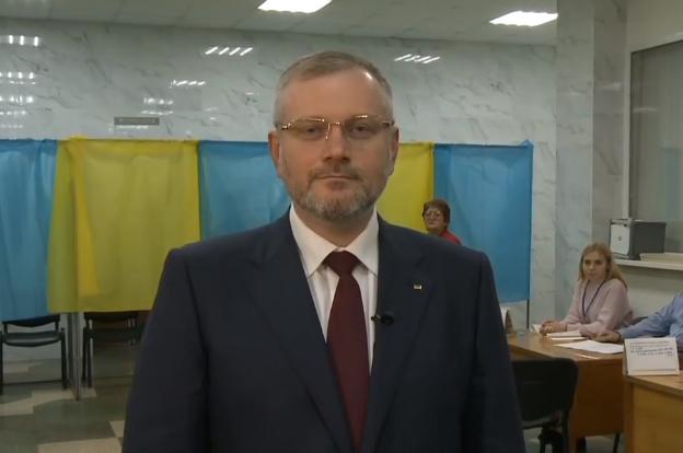 Александр Вилкул проголосовал на выборах президента в Украине 2019