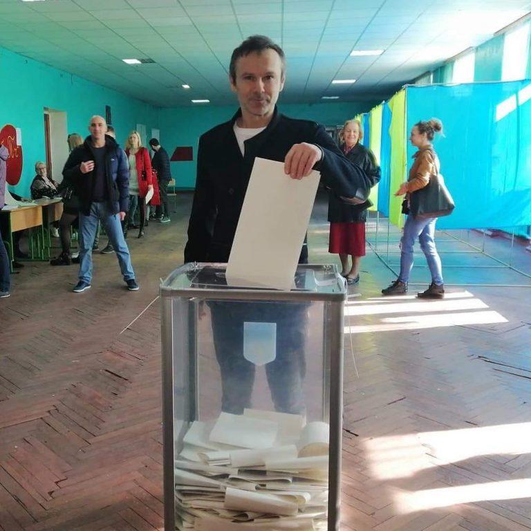 Святослав Вакарчук пришел на выборы президента
