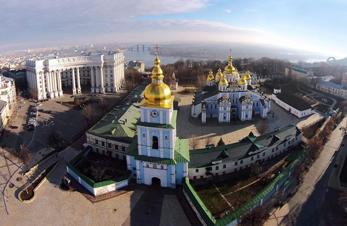 Киев_Михайловский храм-собор/церковь_МИД Украины
