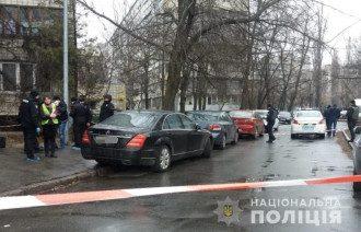 Мужчину застрелили в автомобиле / Нацполиция Киева