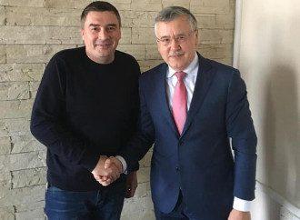 Дмитрий Добродомов и Анатолий Гриценко / Facebook Добродомова