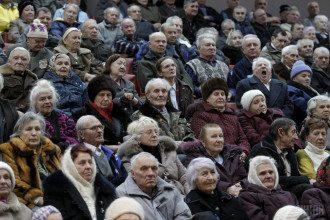 бабусі, дідусі, пенсіонери