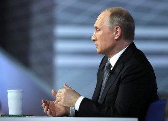 Путин в профиль