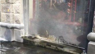 Количество пожаров в магазинах Roshen растет в геометрической прогрессии / Фото: скриншот из видео