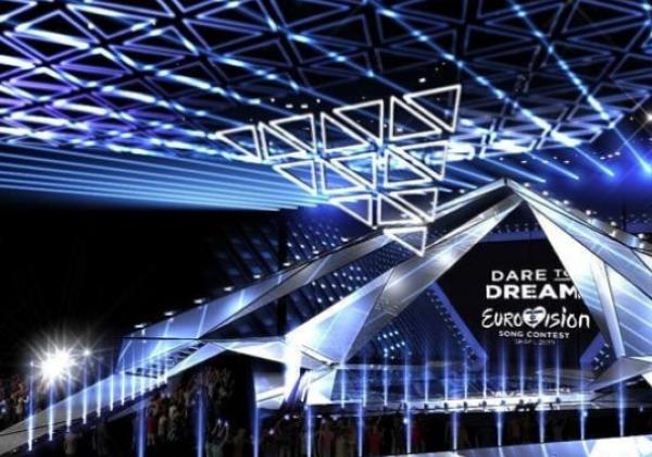 Появились первые фото сцена Евровидения-2019