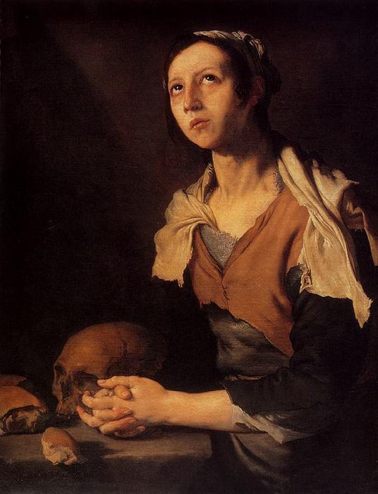 Святая Мария Египетская. Хосе Рибера