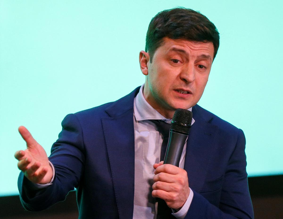 Владимир Зеленский сказал, что украинцев поделили на