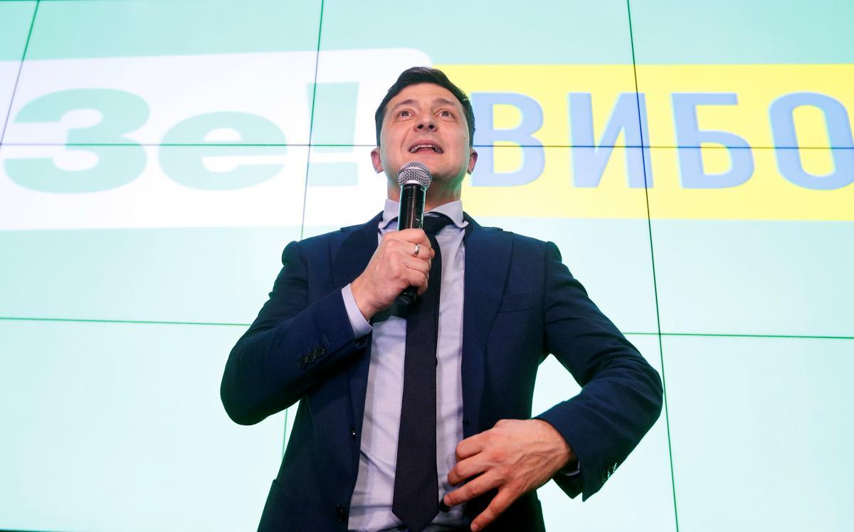 Физиогномист полагает, что Владимир Зеленский не трус