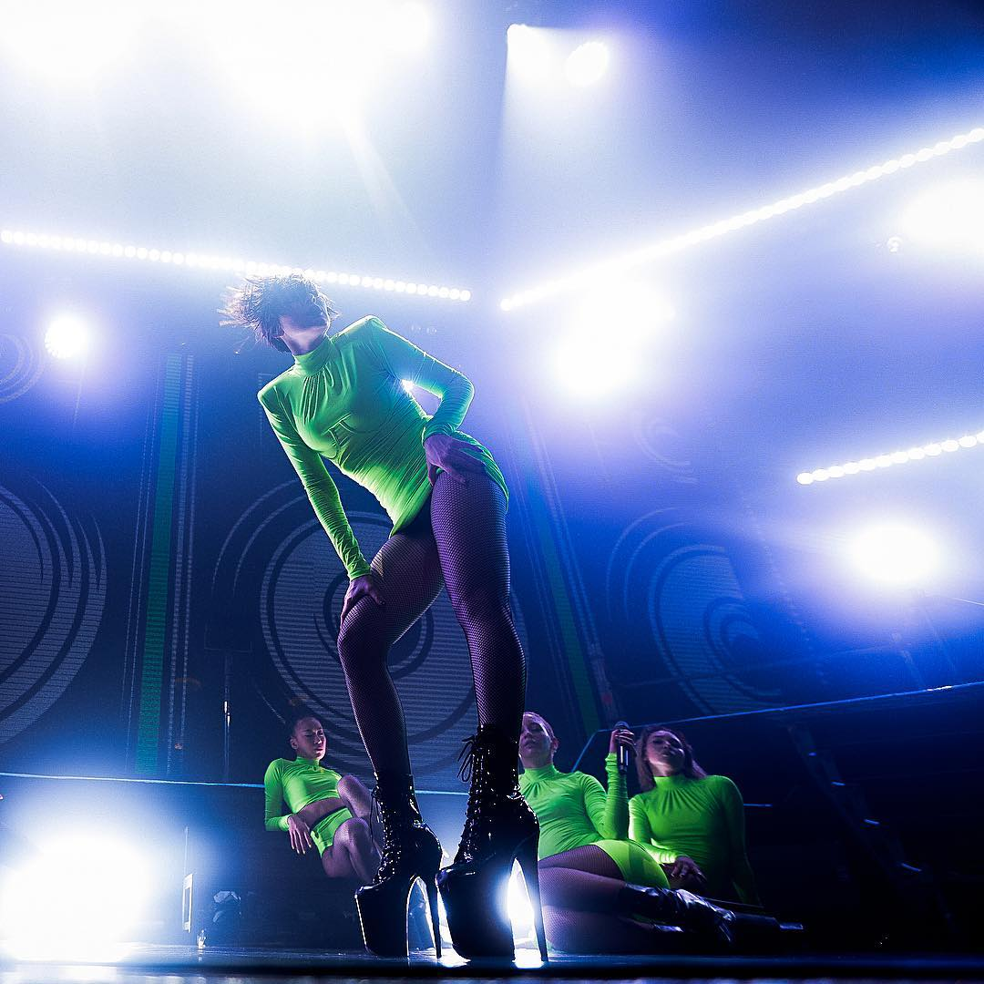 Марув дала сольный концерт в Москве
