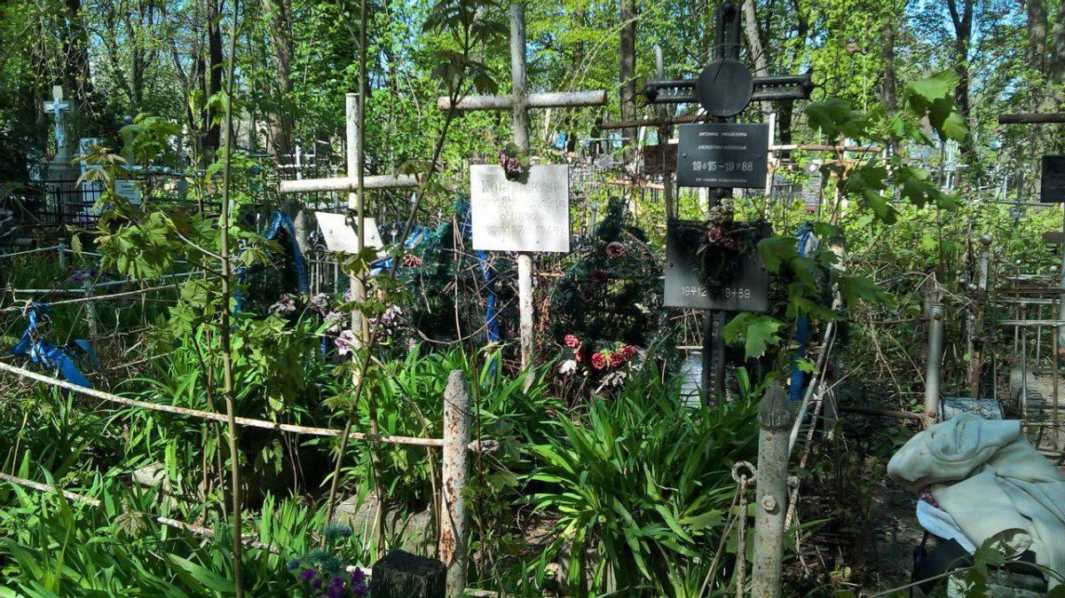 Лукьяновское кладбище в Киеве