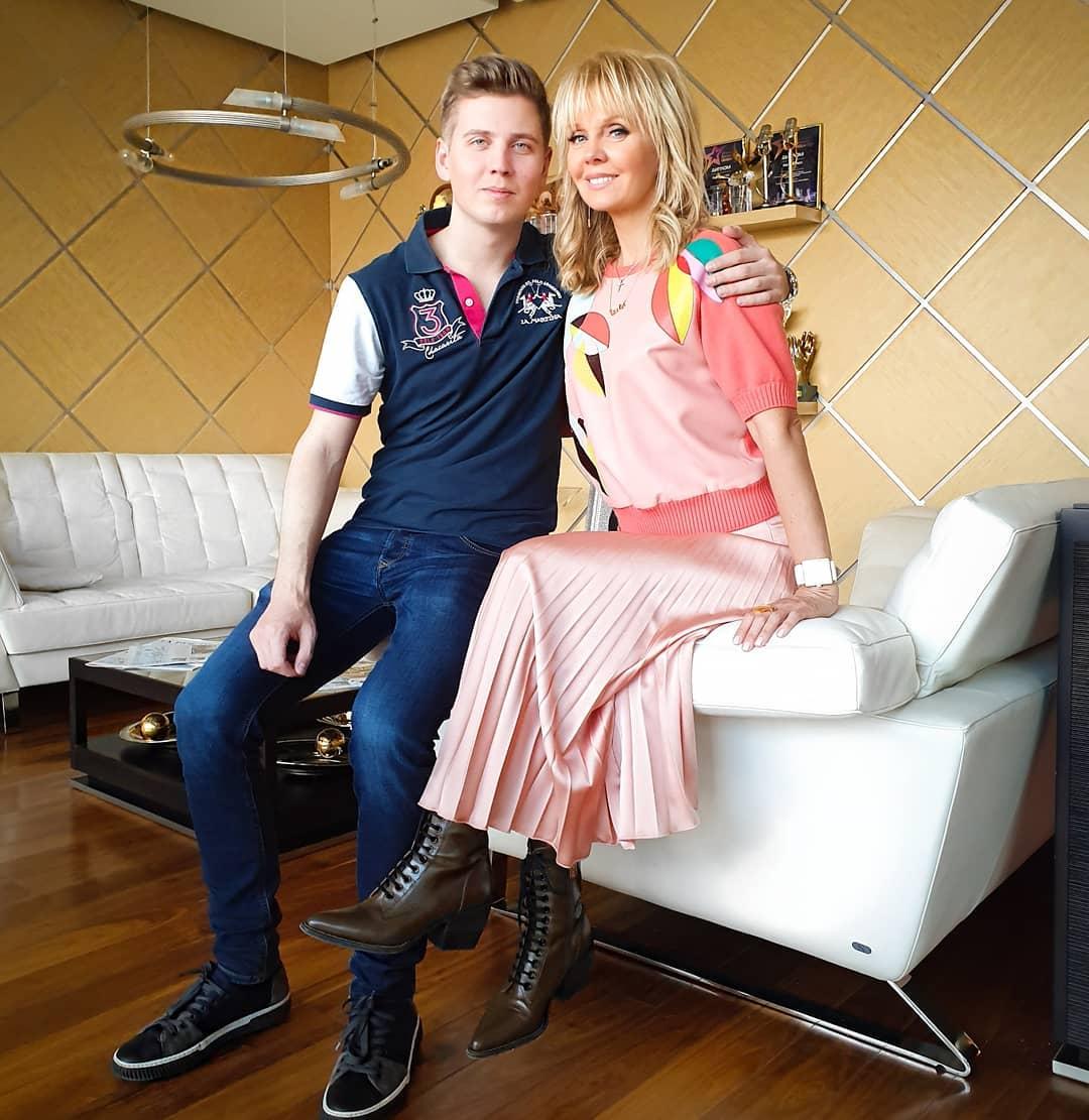 Валерия с Артемием Шульгиным