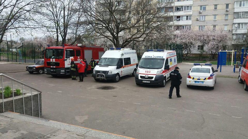 Чиновник сообщил, что в гимназии Черкасс десятки детей пострадали из-за распыления газа