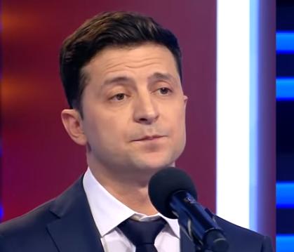 Владимир Зеленский уколол Петра Порошенко