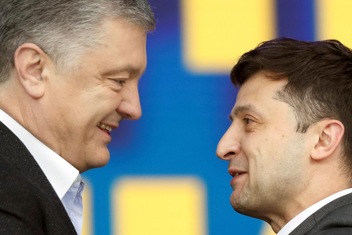 Порошенко — Зеленскому: «Желаю успешного президентства»