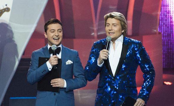 Российские артисты поздравили Зеленского и попросились на гастроли