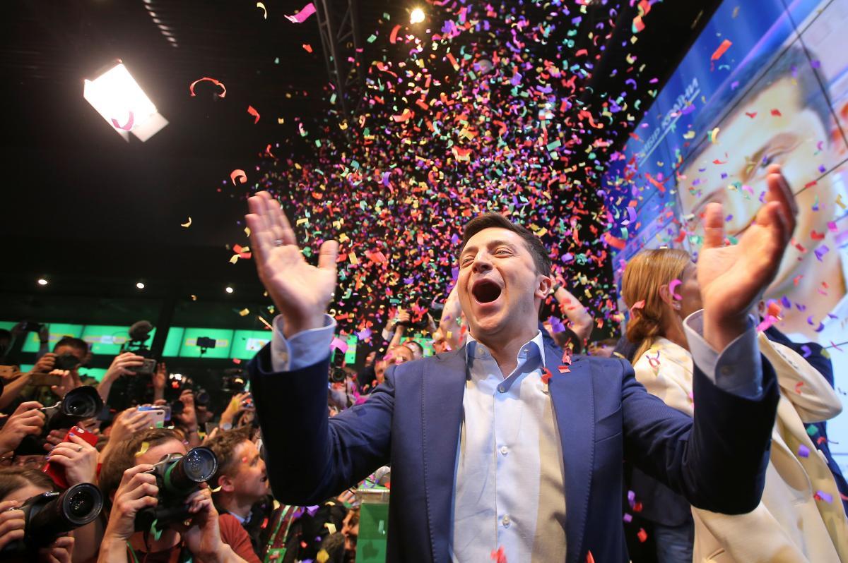 Власти ряда стран мира отреагировали на триумф Владимира Зеленского на выборах 2019